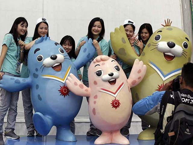 Photo : Asian Games 2014: South Korea Opens Arms for a Continent