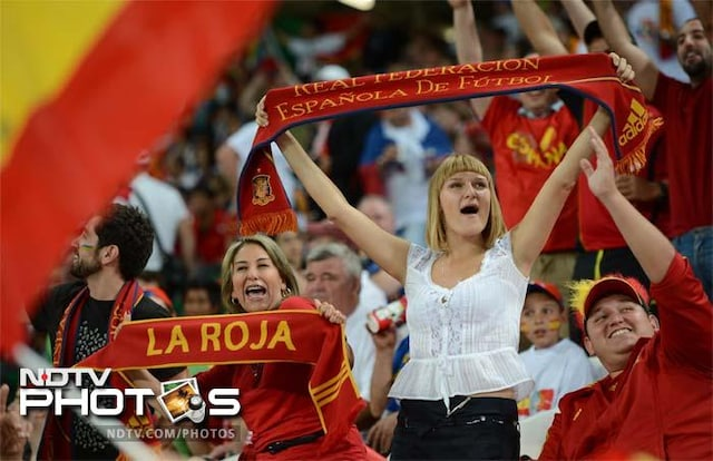 Euro 2012: The sizzling Spanish salsa, served with a trophy!