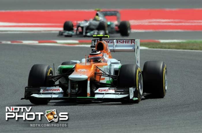 Spanish F1: Qualifying session from Barcelona