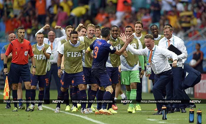 FIFA World Cup: Netherlands Rout Spain