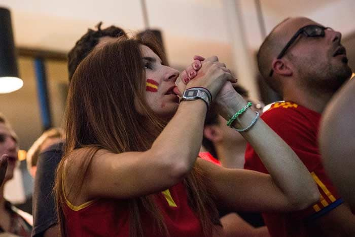 Armada Sinks: Spanish Fans Crushed After Ouster