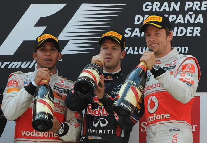 Vettel races to win at Spanish GP