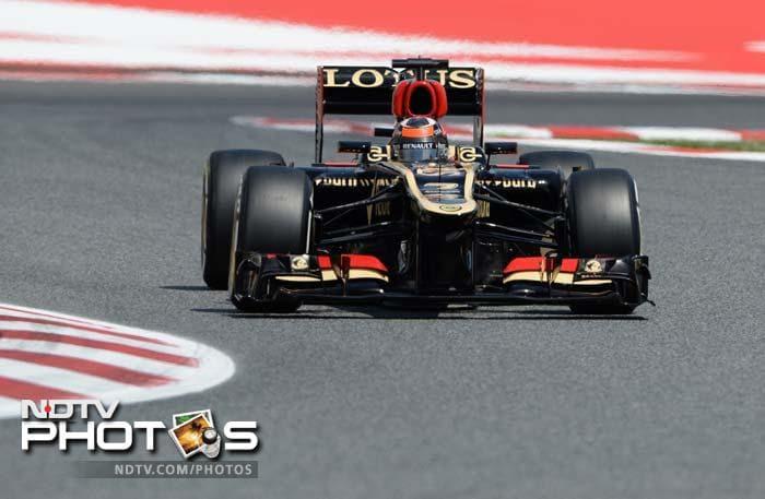 Spanish Grand Prix: Nico Rosberg takes pole, Lewis Hamilton 2nd, Sebastian Vettel 3rd