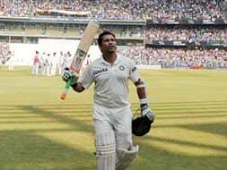 Pujara, Sharma post centuries for Sachin in Day 2