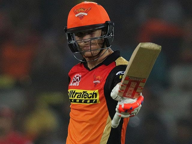 Photo : डेविड वार्नर की फिफ्टी से हैदराबाद ने लगाई जीत की हैट्रिक