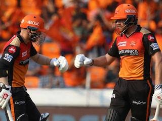 David Warner, Jonny Bairstow In Record Stand As SunRisers Hyderabad Win Big