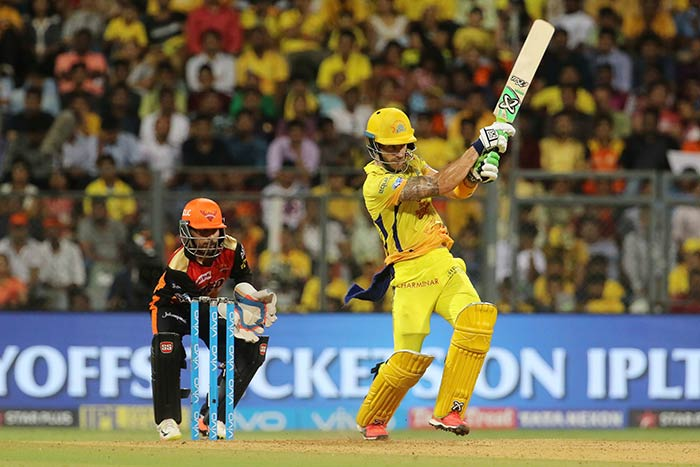 IPL 2018, Qualifier 1: Faf du Plessis Stars As Chennai Beat SunRisers Hyderabad To Enter Final