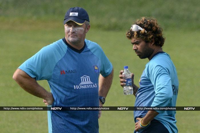 ICC World Twenty20: Sri Lankan team trains hard ahead of big final against India