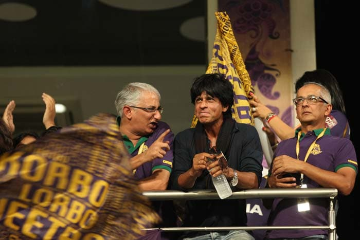 SRK: Kolkata's No 1 fan