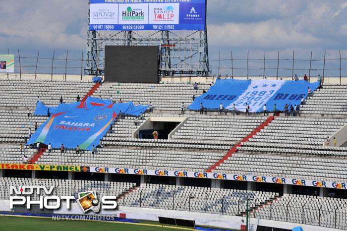 How India has fared at the four stadiums for the series
