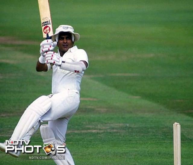 Sunil Gavaskar: Sparkling cricketing life in pictures