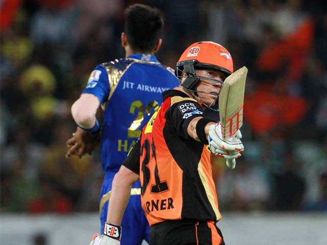 IPL: David Warner Masterclass Helps Sunrisers Hyderabad Register First Win