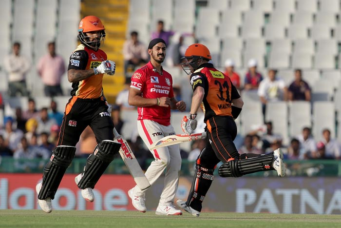 Sunrisers All But Assured of Playoff Berth With Win Over Kings XI
