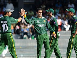 Photo : World T20: Pakistan beat South Africa in a thrilling super 8 match