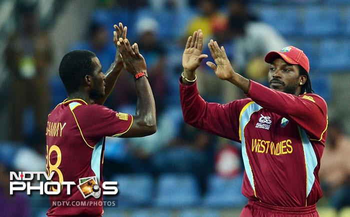 World Twenty20: West Indies beat New Zealand in super over, keep hopes alive