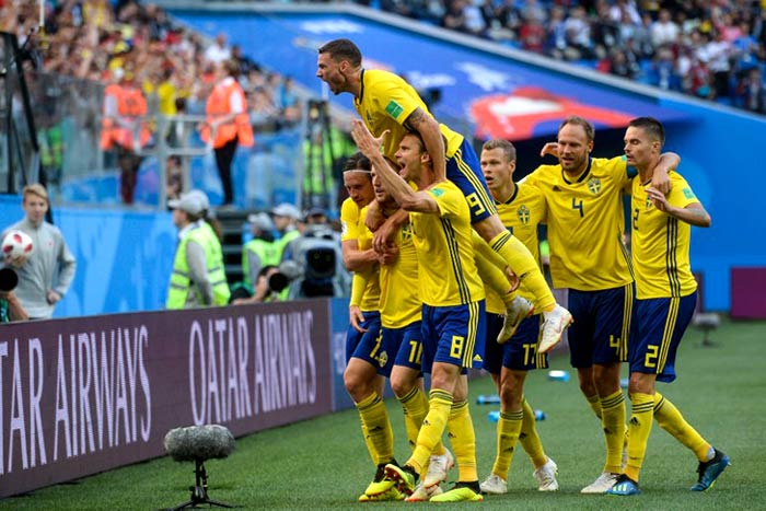FIFA World Cup 2018: Sweden Beat Switzerland To Reach Quarter-Finals