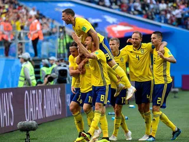 FIFA World Cup 2018: Sweden Beat Switzerland To Reach Quarter-Finals