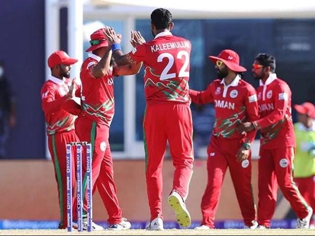 Photo : टी 20 विश्व कप 2021: ओमान ने पापुआ न्यू गिनी के खिलाफ 10 विकेट से हासिल की जीत