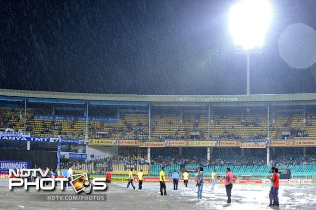 1st T20: Yuvrajs comeback delayed as match gets washed out