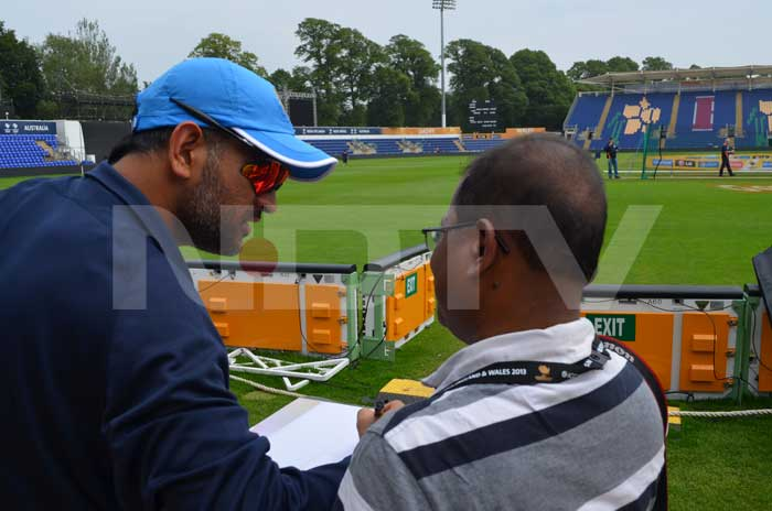ICC Champions Trophy: They eat apple, sign autographs and train hard