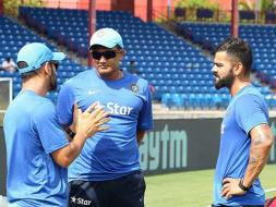 Photo : Team India Sweats It Out In Nets Ahead of T20 Series Versus West Indies