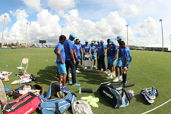 Team India Sweats It Out In Nets Ahead of T20 Series Versus West Indies