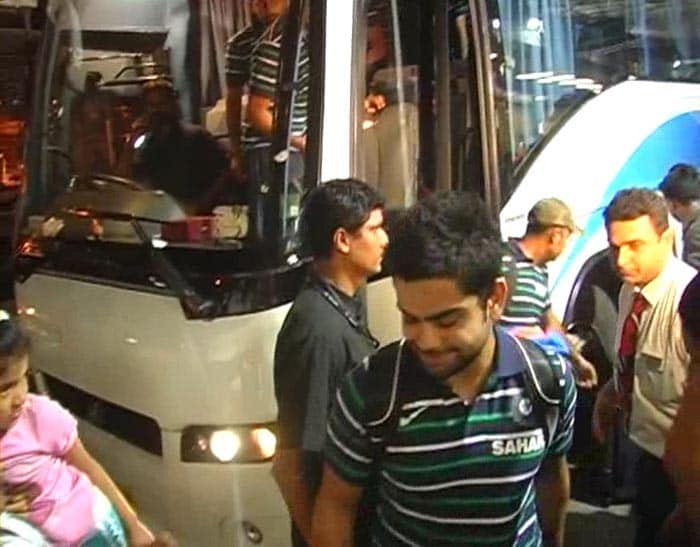 Team India departs for Windies
