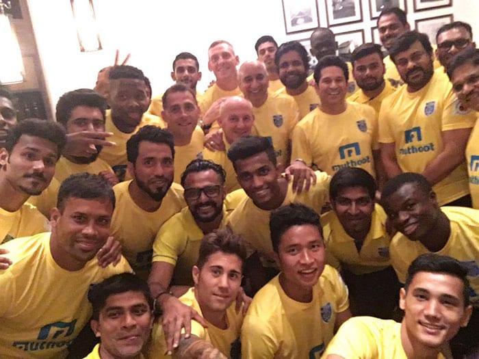 ये हैं सचिन तेंदुलकर की टीम केरला के ब्लास्टर्स