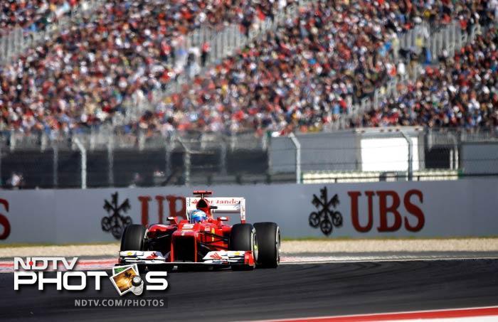 US Grand Prix: Hamilton storms on to the podium