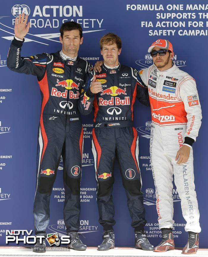 Vettel dominates the Texas qualifiers, takes pole