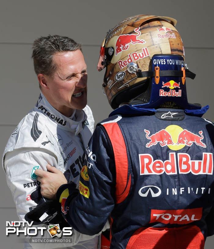 Vettel dominates the Texas qualifiers, takes pole