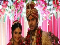 Photo : Cricketer Manoj Tiwary marries long-term girlfriend