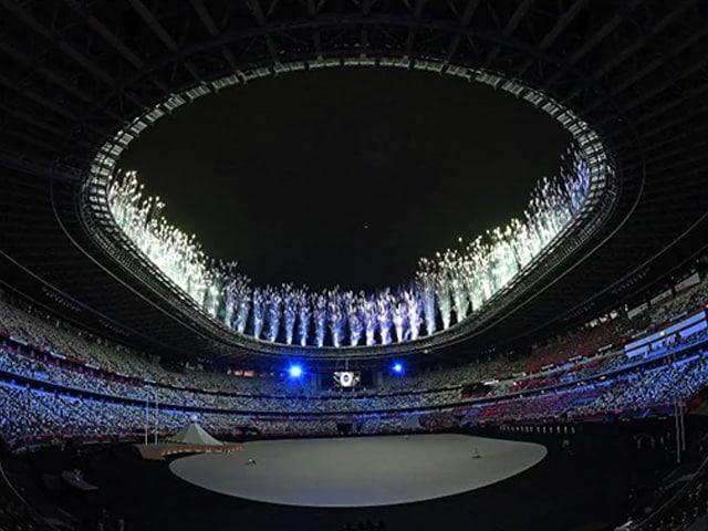 Photo : टोक्यो ओलंपिक: ओपनिंग सेरेमनी का भव्य आयोजन, देखें तस्वीरें....