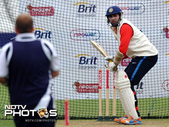 Sachin gets back to the basics at Trent Bridge