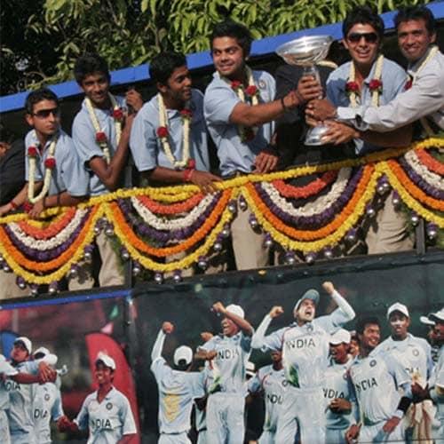 India Under-19 Celebrations