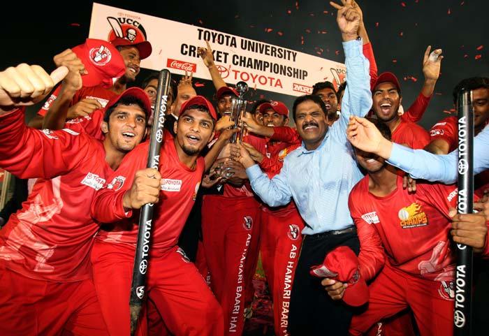 TUCC: Winning Moments for Jain University, Bengaluru