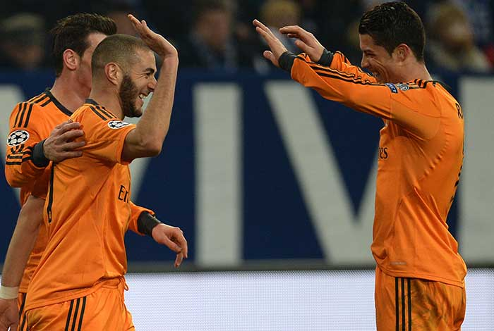Champions League: Ronaldo, Bale star as Real thrash Schalke, Chelsea held