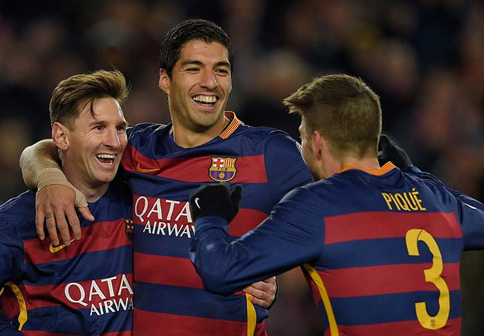 UEFA Champions League: Barcelona, Bayern Munich Book Berths in Last 16