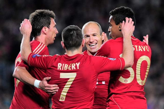 Champions League: The road to the finals for Bayern and Dortmund