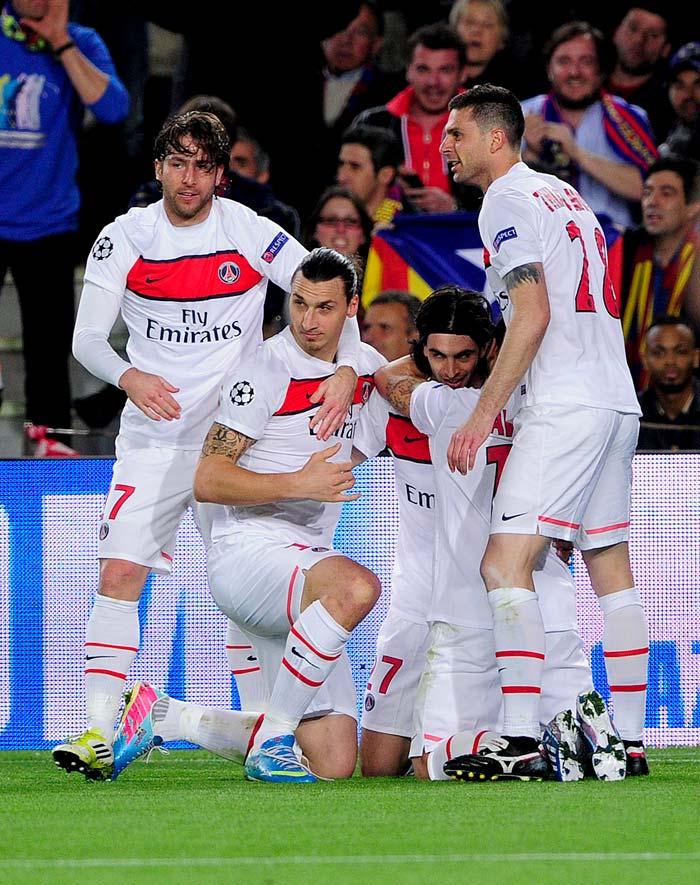 UEFA Champions League: Barca and Bayern book semi-final slots