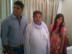 Photo : Umesh Yadav gets engaged to a fashion designer