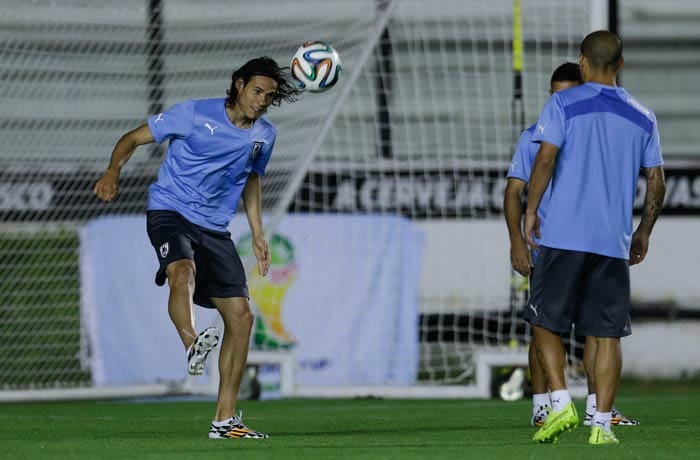 FIFA World Cup: Suarez-Less Uruguay Gear Up to Knock Colombia Out