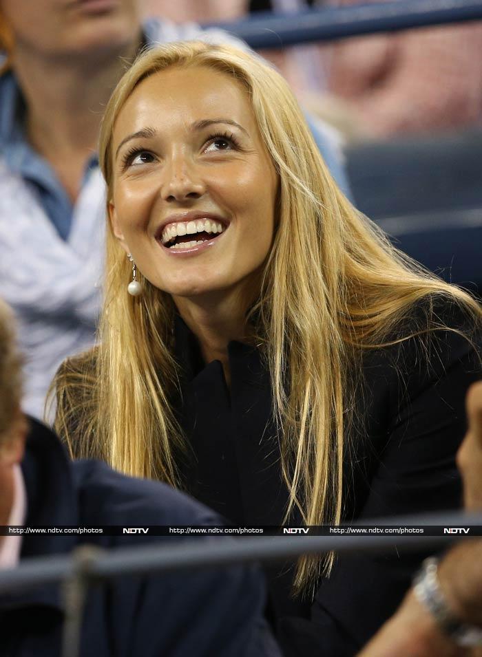 Battle of girlfriends: It's Jelena vs Xisca at US Open!