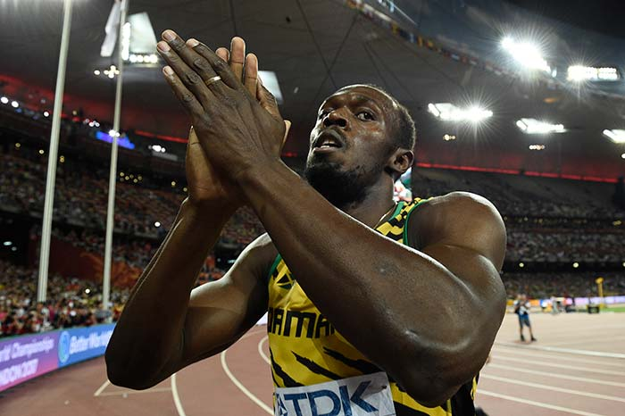 Usain Bolt Beats Rival Justin Gatlin to Win World Athletics Gold