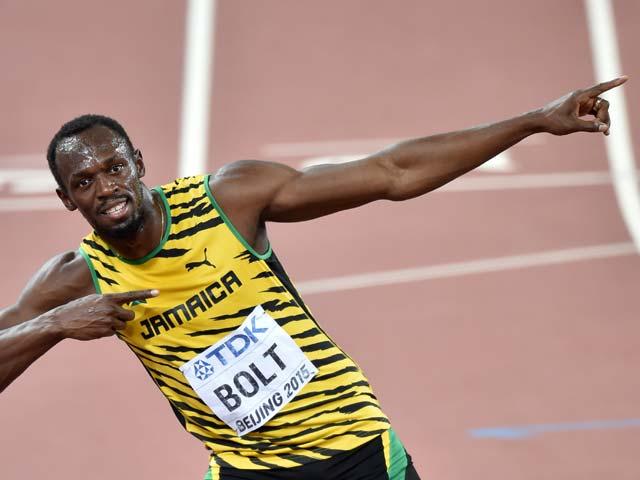 Usain Bolt Beats Rival Justin Gatlin to Win World Athletics Gold