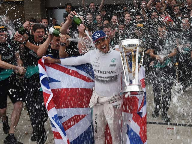 Lewis Hamilton Storms to Third World Title