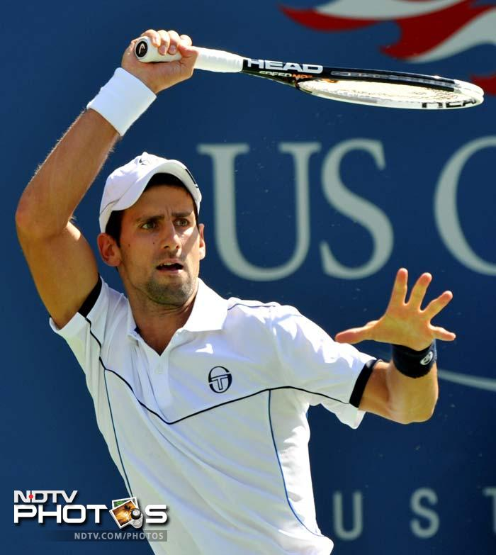 US Open, 2011: Day 2
