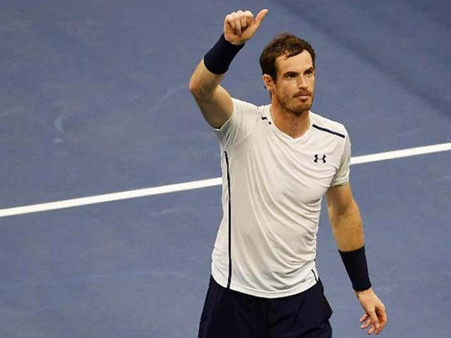 Photo : US Open 2016: Andy Murray, Serena Williams Storm Into Third Round