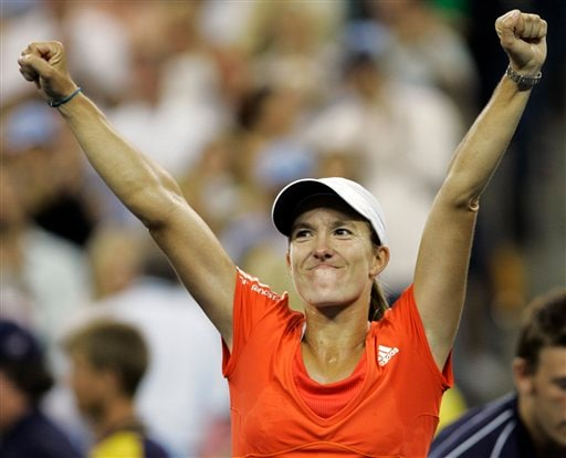 Henin wins US Open