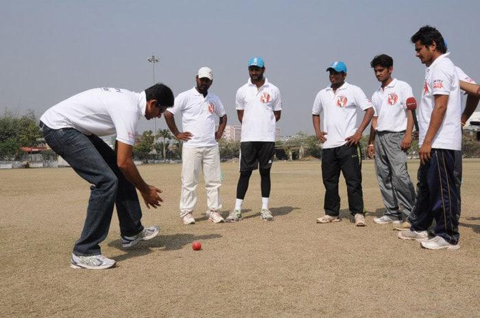 Cricket lessons from Venkatesh Prasad
